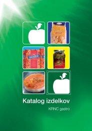 Katalog izdelkov - Krnc doo