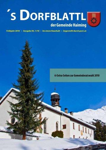 (5,68 MB) - .PDF - Gemeinde Haiming - Land Tirol