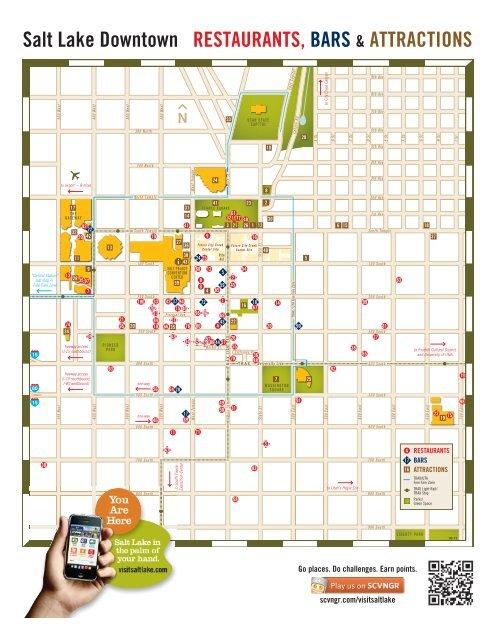 Salt Lake City Downtown Map - WGU Alumni Community