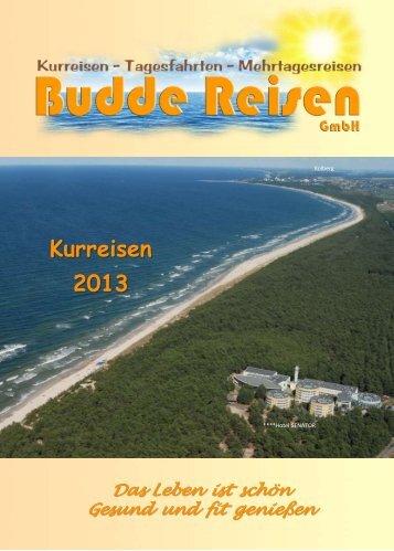 Kurreisen - Budde-Reisen