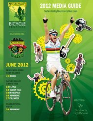 Welcome to the nature valley bicycle festival