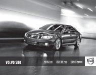 VOLVO S80 - Volvo Halbeisen AG