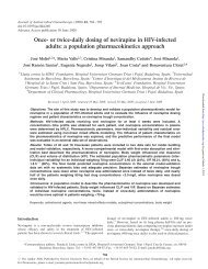 Once- or twice-daily dosing of nevirapine in HIV-infected adults: a ...