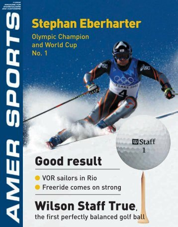 Stephan Eberharter Good result Wilson Staff True, - Amer Sports