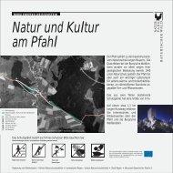 Burglehrpfad Weißenstein - Naturpark Bayerischer Wald
