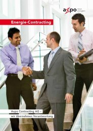 Energie-Contracting - Axpo Holding AG
