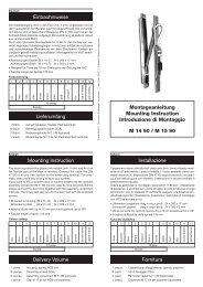 Montageanleitung_M 14 90_M 15 90.indd - LINK GmbH