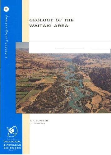 Geology of the Waitaki Area - Environment Canterbury