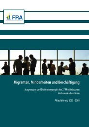 Migrants, minorities and employment - European Union Agency for ...