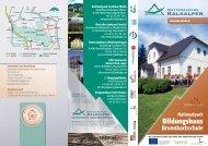 Folder Brunnbachschule - Nationalpark Kalkalpen