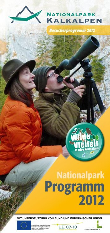 Programm 2012 - Nationalpark Kalkalpen