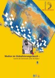 Medien im Globalisierungsrausch – - Nord-Süd-Netz