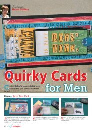 Quirky Cards.indd - Craft Stamper Magazine