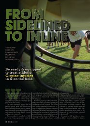 From Sidelined To Inline - Oklahoma Athletic Trainers' Association