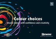 Colour Choices - choose colour with creativity and ... - Resene