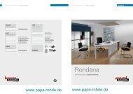 ASSMANN Büromöbel Prospekt Rondana ... - Pape+Rohde