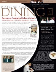 Awareness Campaign Makes A Splash - DiRoNA-Distinguished ...