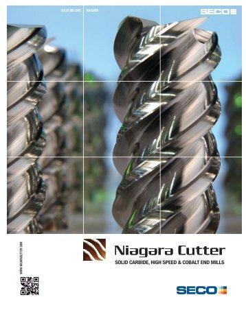 SOLID CARBIDE, HIGH SPEED & COBALT END ... - Niagara Cutter