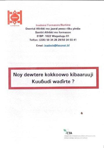 Noy dewtere kokkoowo kibaaruuji Kuubudi wadïrte - CTA Partners ...