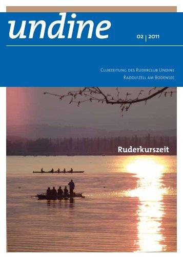 Ruderkurszeit - Ruderclub Undine Radolfzell