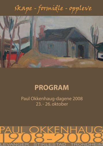 PROGRAM - Paul Okkenhaug