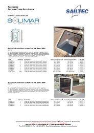 PREISLISTE SOLIMAR FLUSH DECK LUKEN - SAILTEC GmbH