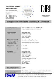 Europäische Technische Zulassung ETA-09/0023 - Haga