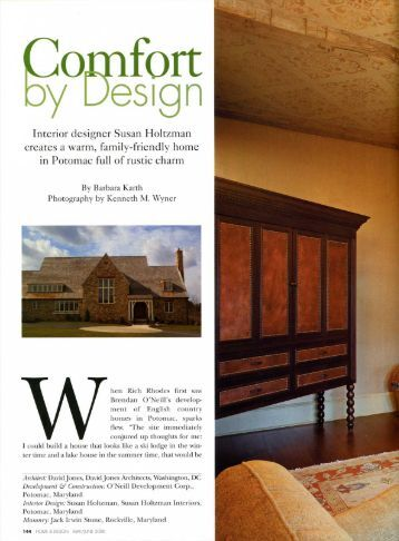 assisted Susan Holtzman and - SJF Interiors