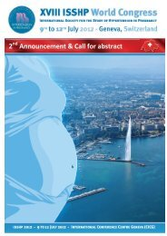 2 Announcement & Call for abstract - SGGG