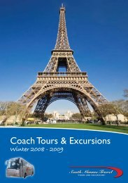 Coach Tours & Excursions - South Mimms Travel