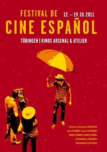 Programm (pdf) - Spanisches Filmfestival Tübingen