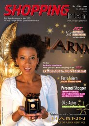 Ausgabe 7/2009 - Shopping-Intern