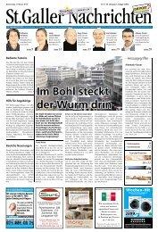 St. Gallen - Aktuelle Ausgabe