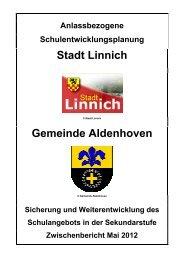 Machbarkeitsstudie einer Gesamtschule - Stadt Linnich