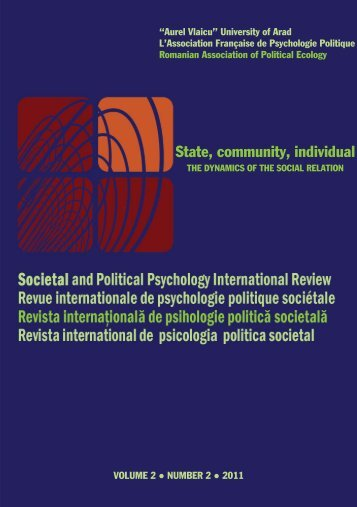 State, community, individual - Societal and Political Psychology ...