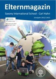 Elternmagazin Schuljahr 2012/2013 - Saxony International School