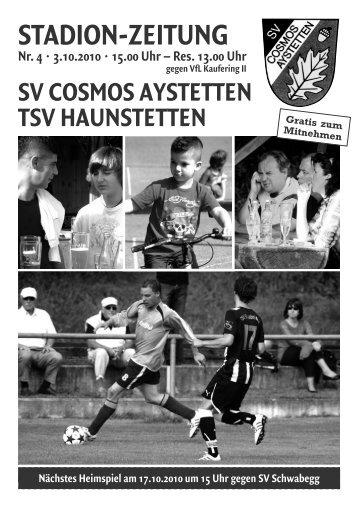 Nr. 4 - SV Cosmos Aystetten