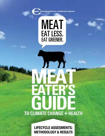 Meat Eaters Guide: Methodology - Environmental Working Group