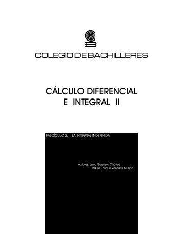 CÁLCULO DIFERENCIAL E INTEGRAL II - Oregon