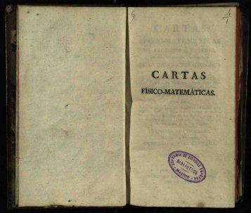 CARTAS - Real Academia de Ciencias Exactas, Físicas y Naturales