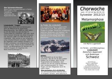 Anmeldeflyer 2012/13 herunterladen (pdf) - Stimme & Chor