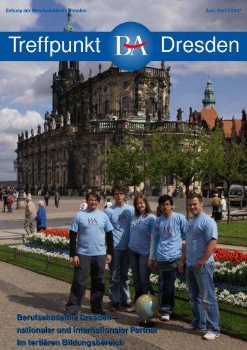 Treffpunkt Dresden - Berufsakademie Dresden