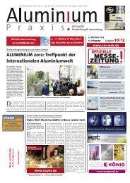 ALUMINIUM 2012: Treffpunkt der internationalen ... - ALU-WEB.DE