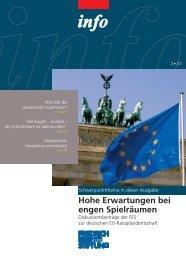 FES Info 2-2007 - Bibliothek der Friedrich-Ebert-Stiftung