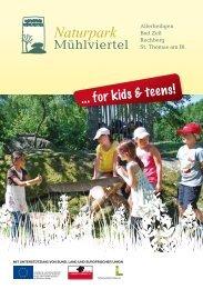 Folder zum downloaden - Naturpark Mühlviertel