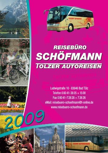 E - Reisebüro Schöfmann / Tölzer Autoreisen