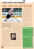 Tema: Sport och pengar - Swedbank - Page 6