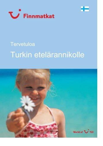 Turkin etelärannikolle