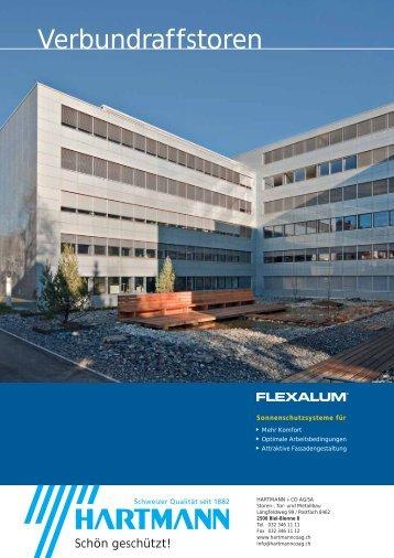 Verbundraffstoren - Hartmann & Co AG