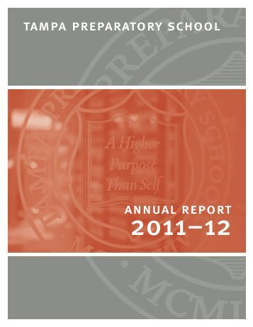 2011-2012 Annual Report - Tampa Preparatory School